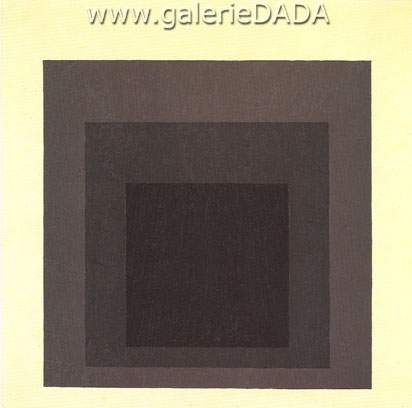 Josef Albers,  Homage to the Square Guarded Fine Art Reproduction Oil Painting