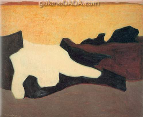 Milton Avery,  Sunset Fine Art Reproduction Oil Painting