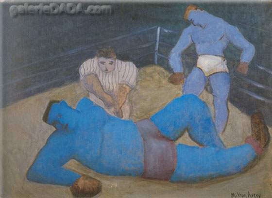 Milton Avery,  The Last Round Fine Art Reproduction Oil Painting