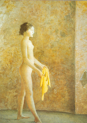 Balthasar Balthus,  Nude in Profile Fine Art Reproduction Oil Painting