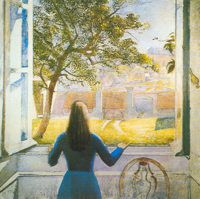 Balthasar Balthus,  Girl in a Window Fine Art Reproduction Oil Painting
