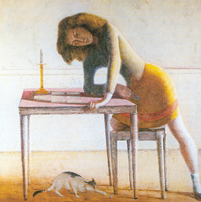 Balthasar Balthus,  Patience Fine Art Reproduction Oil Painting