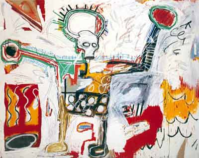 Jean-Michel Basquiat,  Untitled Fine Art Reproduction Oil Painting