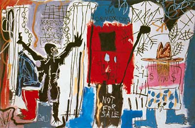 Jean-Michel Basquiat,  Obnoxious Liberals Fine Art Reproduction Oil Painting