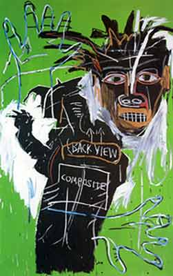 Jean-Michel Basquiat,  Self-Portrait as a Heel Part Two Fine Art Reproduction Oil Painting