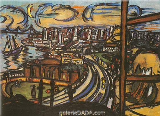 Max Beckmann,  San Francisco Fine Art Reproduction Oil Painting