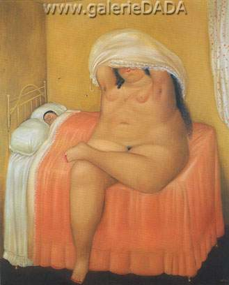 Fernando Botero,  The Lovers Fine Art Reproduction Oil Painting