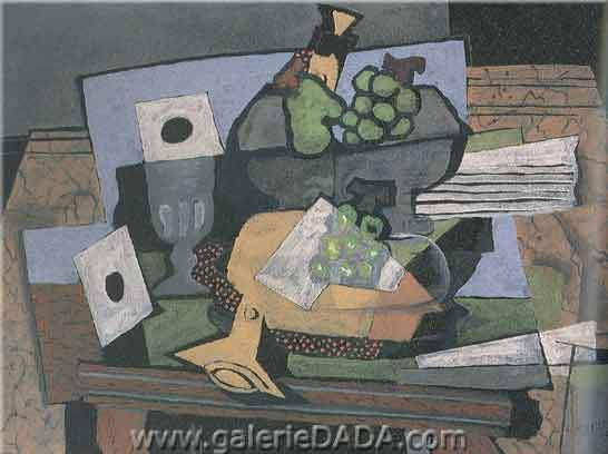 Georges Braque,  Still Life with Clarinet Fine Art Reproduction Oil Painting