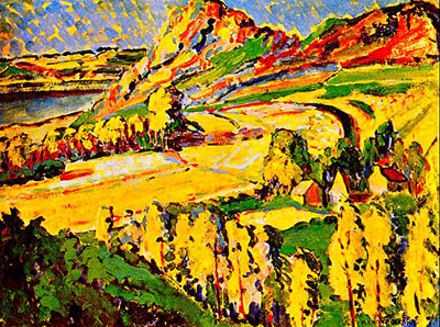Emily Carr,  Autumn in France Fine Art Reproduction Oil Painting