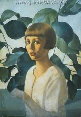 Felice Casorati,  Portrait of Renato Gualino Fine Art Reproduction Oil Painting