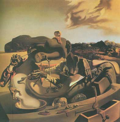 Salvador Dali, Autumn Cannibalism Fine Art Reproduction Oil Painting