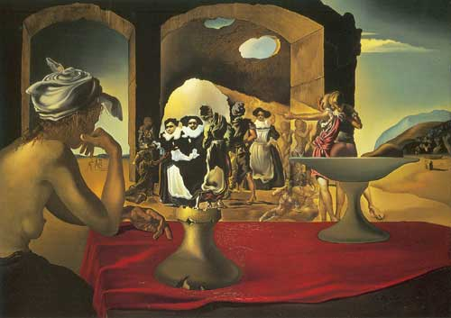 Salvador Dali,  Slave Market Fine Art Reproduction Oil Painting