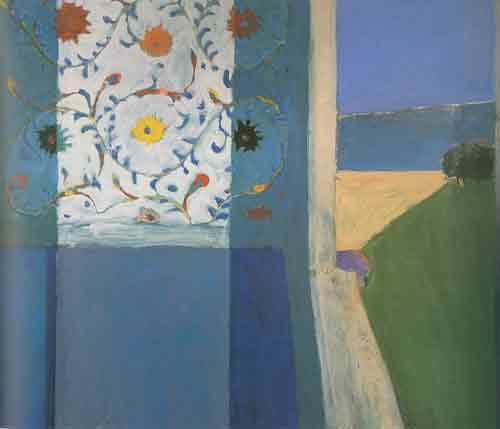 Richard Diebenkorn,  Recollections of a Visit to Leningrad Fine Art Reproduction Oil Painting