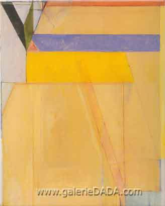 Richard Diebenkorn,  Ocean Park No.38 Fine Art Reproduction Oil Painting