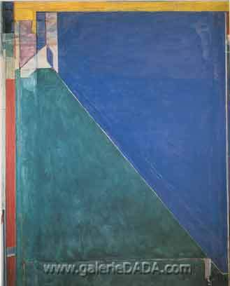 Richard Diebenkorn,  Ocean Park No.140 Fine Art Reproduction Oil Painting