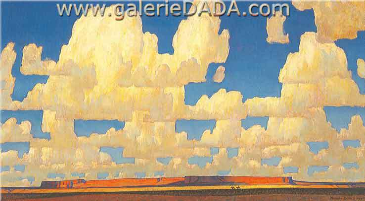Maynard Dixon,  Cloud World Fine Art Reproduction Oil Painting