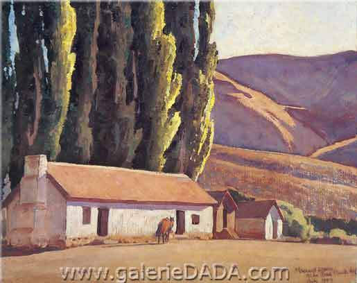 Maynard Dixon,  Old Bunk House Fine Art Reproduction Oil Painting