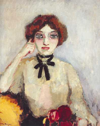 Kees van Dongen,  Fille Mere Fine Art Reproduction Oil Painting