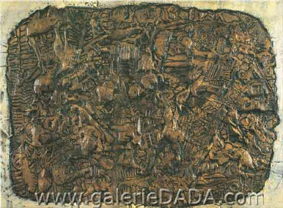 Jean Dubuffet,  Stone of Life Fine Art Reproduction Oil Painting