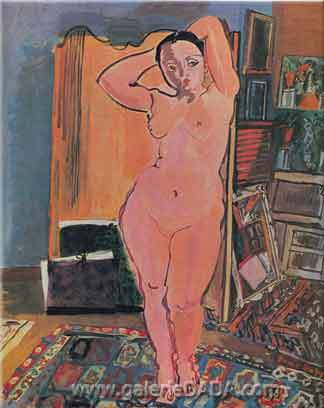 Raoul Dufy,  Nude Fine Art Reproduction Oil Painting