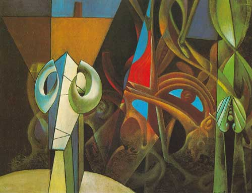 Max Ernst,  Design in Nature Fine Art Reproduction Oil Painting