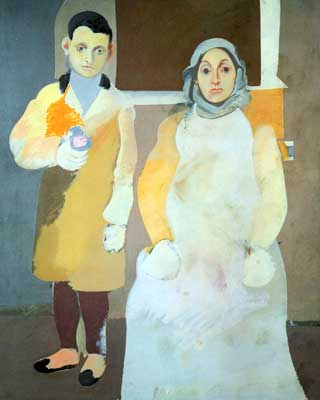 Arshile Gorky,  The Artist and His Mother Fine Art Reproduction Oil Painting