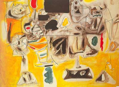 Arshile Gorky,  Landscape Table Fine Art Reproduction Oil Painting