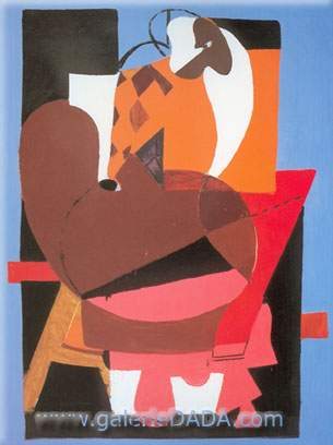 Arshile Gorky,  Abstraction with Palette Fine Art Reproduction Oil Painting