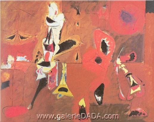 Arshile Gorky,  Agony Fine Art Reproduction Oil Painting