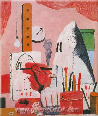 Philip Guston,  The Studio Fine Art Reproduction Oil Painting