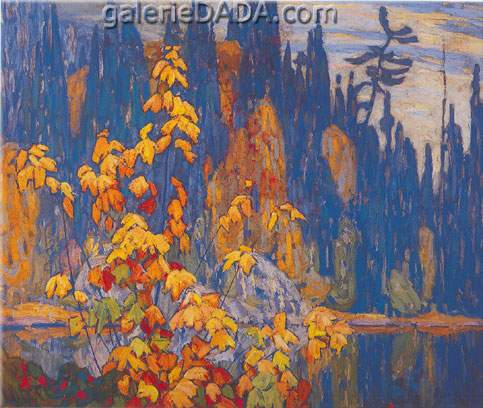 Lawren Harris,  Autumn Algoma Fine Art Reproduction Oil Painting