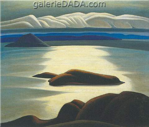 Lawren Harris,  Morning Lake Superior Fine Art Reproduction Oil Painting