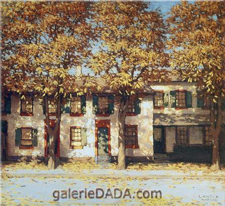 Houses richmond street lawren harris art reproduction for Reproduction homes