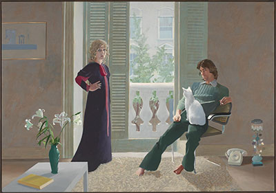 David Hockney,  Mr and Mrs Clark and Percy Fine Art Reproduction Oil Painting