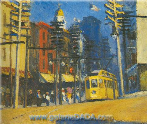 Edward Hopper,  Yonkers Fine Art Reproduction Oil Painting