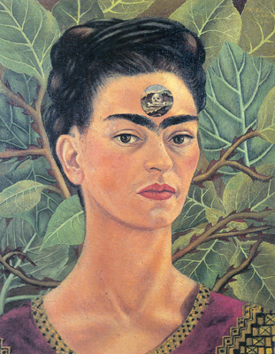 Frida Kahlo,  Thinking about Death Fine Art Reproduction Oil Painting