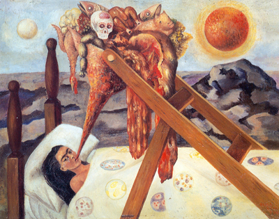 Frida Kahlo,  Without Hope Fine Art Reproduction Oil Painting