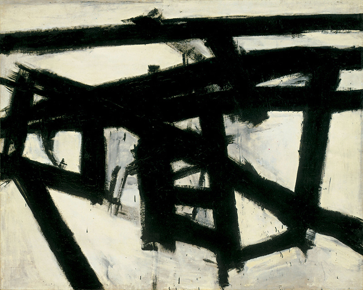 Franz Kline,  Mahoning Fine Art Reproduction Oil Painting