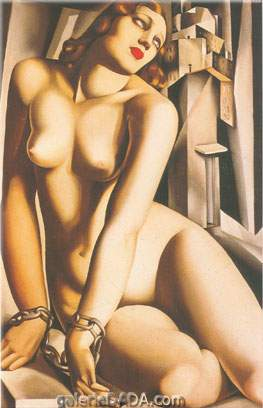 Tamara de Lempicka,  Andromeda Fine Art Reproduction Oil Painting