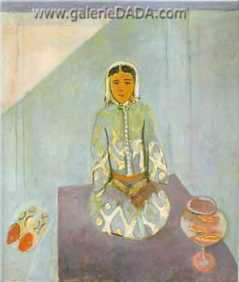 Henri Matisse,  Zorah on the Terrace Fine Art Reproduction Oil Painting