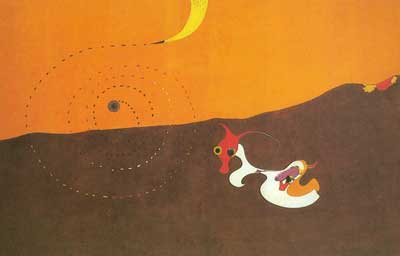 Joan Miro,  Landscape (The Hare) Fine Art Reproduction Oil Painting