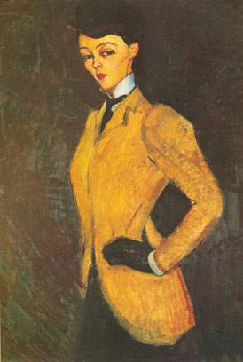 Amedeo Modigliani,  The Horsewoman Fine Art Reproduction Oil Painting