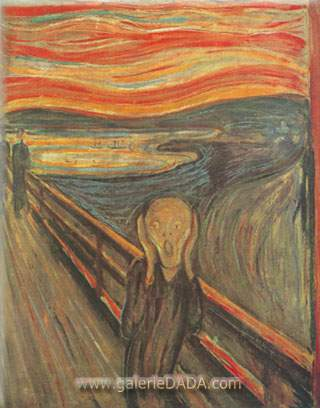 Edvard Munch,  The Scream Fine Art Reproduction Oil Painting