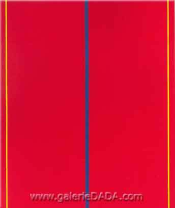 Barnett Newman,  Whos Afraid of Red Yellow and Blue II Fine Art Reproduction Oil Painting