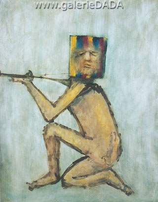 Sidney Nolan,  Kelly Study IV Fine Art Reproduction Oil Painting