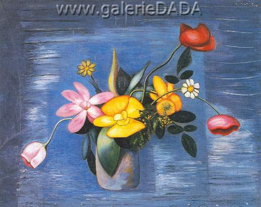 Amelia Pelaez,  Flowers (2) Fine Art Reproduction Oil Painting