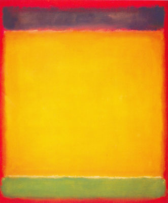 Mark Rothko,  Blue, Yellow, Green on Red Fine Art Reproduction Oil Painting