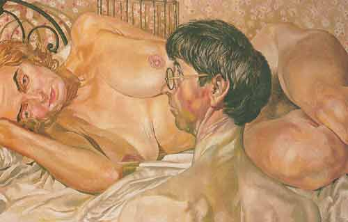 Stanley Spencer,  Self-Portrait with Patricia Pearse Fine Art Reproduction Oil Painting