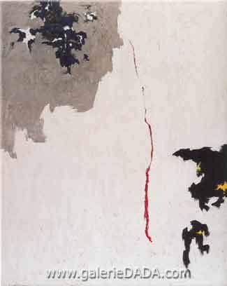 Clyfford Still,  1949-F Fine Art Reproduction Oil Painting