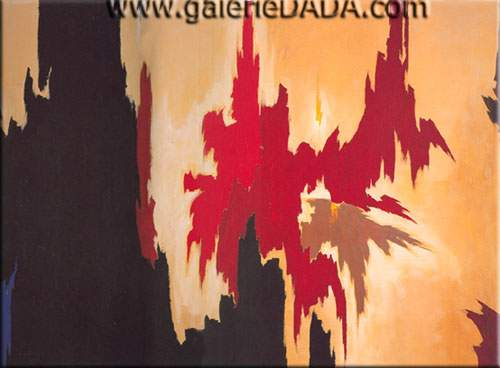 Clyfford Still,  Untitled Fine Art Reproduction Oil Painting